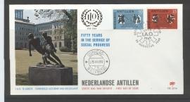 ANTILLEN 1969 FDC E056 I.A.O