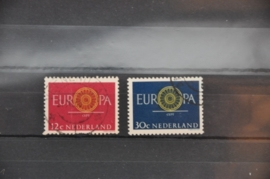 NEDERLAND 1960 NVPH 745-746 GEBRUIKT ++ J 88