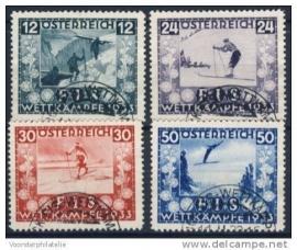 1933 ANK 551-554 FIS ++ S 158