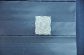 CURAÇAO 1892 NVPH 23 PLAK(REST) ++ Q 240