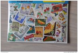 Importa Postzegelpakket 50 vlinders ++ 37