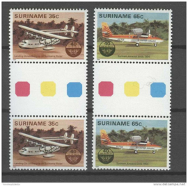 REP. SURINAME 1984 ZBL 397-398 BP A ++ P 333