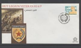 FDC Blanco SHP 1988-1989