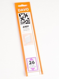 Easy stroken transparant T26 (215 x 30) 25 stuks