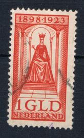 NEDERLAND 1923 NVPH 129 GESTEMPELD ++ J 344