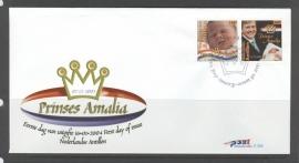 ANTILLEN 2004 FDC E355 AMALIA
