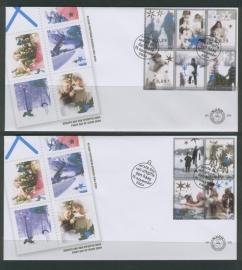 NEDERLAND NVPH FDC E506 KERSTMIS CHRISTMAS
