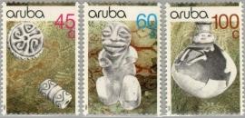ARUBA 1990 NVPH SERIE 080 ARCHEOLOGIE