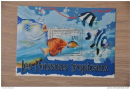 CENTRAFRICAINE 2012 VISSEN FISH POISSON ++ M1-16(1)