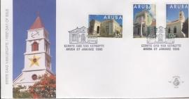 ARUBA 1995 FDC E 055 MONUMENTEN
