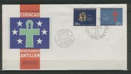ANTILLEN 1963 FDC E 24-4