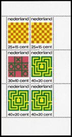 NEDERLAND 1973 NVPH SERIE 1042 KINDERZEGELS