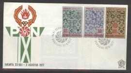 INDONESIË 1977 FDC 38