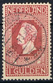 NEDERLAND 1913 NVPH 98 GESTEMPELD ++ J 350