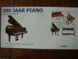 ANTILLEN 2009 FDC E426 PIANO MUZIEK