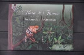INDONESIË 2012 BLOK FLORA FAUNA ++ H 271