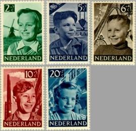 NEDERLAND 1951 NVPH SERIE 573 KIND CHILD