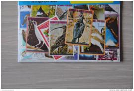 Importa Postzegelpakket 25 vogels ++ 29