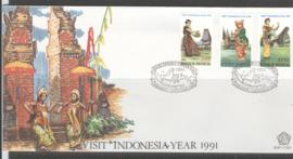 INDONESIË FDC SHP 1991-1