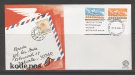 INDONESIË 1984 FDC 161