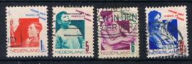 NEDERLAND 1931 NVPH 240-43 GEBRUIKT ++ G 478