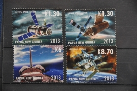 PAPUA NEW GUINEA 2013 RUIMTE VAART ++ M 222