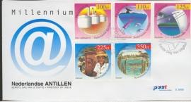 ANTILLEN 1999 FDC E306 AB MILLENNIUM