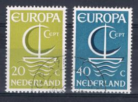 NEDERLAND 1966 NVPH 868-869 GEBRUIKT ++ L 564