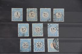 1881 PORT P3-12 GESTEMPELD ++ A 444