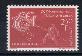 Luxemburg 1960   ++ Lux001