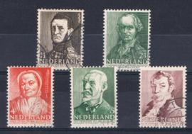 NEDERLAND 1941 NVPH 392-396 GEBRUIKT ++ A 540