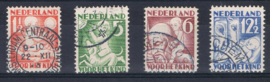 NEDERLAND 1930 NVPH 232-35 GEBRUIKT ++ A L 556-3
