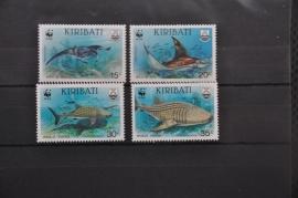 I 015 ++ WWF WNF WERELD NATUUR FONDS ++ KIRIBATI MANTA ROG HAAI