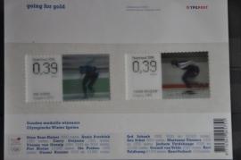NEDERLAND 2006 NVPH 2415-16 ++ P 216 GOING FOR GOLD