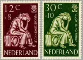 NEDERLAND 1960 NVPH SERIE 736 VLUCHTELINGEN