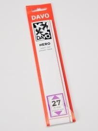 DAVO NERO STROKEN MOUNTS N27 (215 x 31) 25 STK/PCS