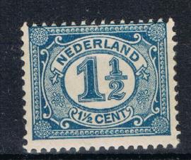 NEDERLAND 1899 NVPH 53 PLAK(REST) ++ K 132