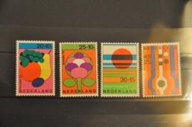 NEDERLAND 1972 NVPH 1003-06 ++ P 014