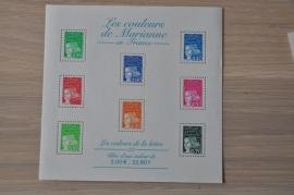 2001 YVERT BLOK 42 MARIANNE ++ M