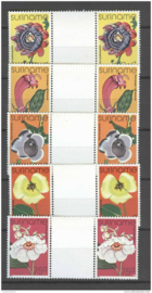 REP. SURINAME 1977 ZBL 108-112 BP  ++ P 339 AB/C