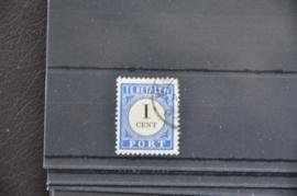 1894 PORT P14(2) GESTEMPELD ++ P 260