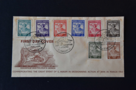 1954 FDC ZBL 119-126