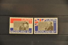 NEDERLAND 1980 NVPH 1207-08 ++ P 093