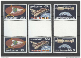 REP. SURINAME 1982 ZBL 280-282 BP ++ P 336