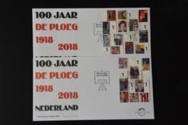 NEDERLAND NVPH FDC E 768 AB