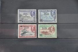 CURAÇAO 1943 NVPH LP 41-44 POSTFRIS ++ R 123