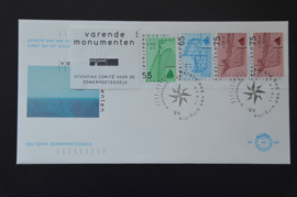 NEDERLAND NVPH FDC E264 A BLANCO
