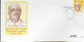 ANTILLEN 1999 FDC E305 WILSON GODETT