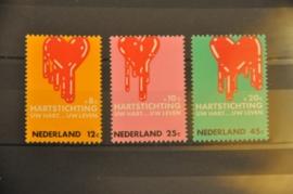 NEDERLAND 1970 NVPH 975-77 ++ P 007