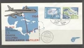 ANTILLEN 1964 FDC E 30-3
